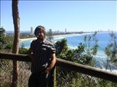 Burleigh Heads' headland NP: in the distance Surfers Paradise's skyline.: by thomasz, Views[342]