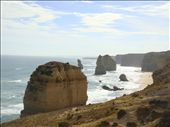 A couple stacks of the 12 Apostles, GOR: by thomasz, Views[208]