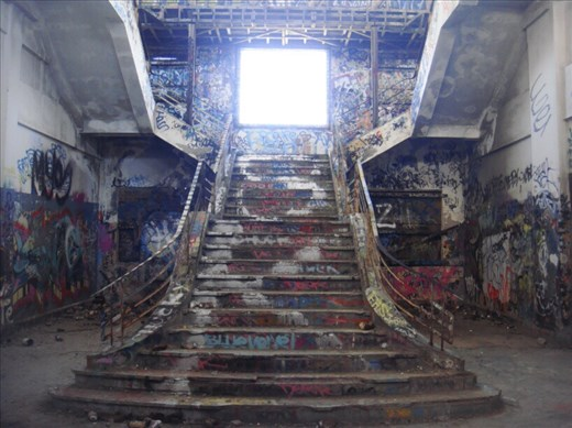Grand stairs, Old power station, Fremantle