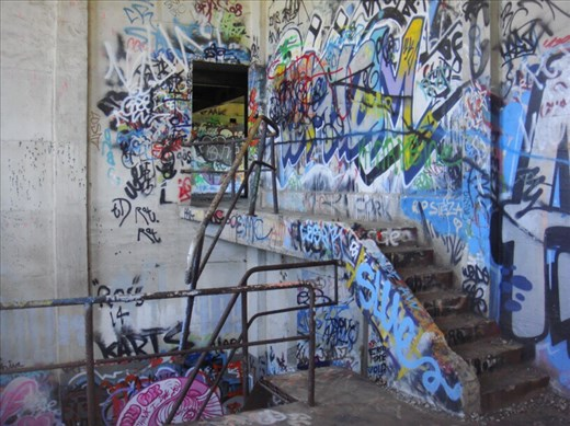 Broken handrail, Oldower station, Fremantle