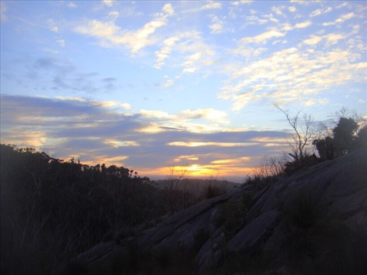 Sunrise on Mt. Chudalup, D'Entrecasteaux NP, WA