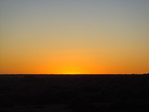 Sunset, Eyre Hwy, SA