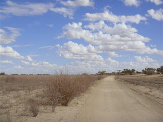 Nearing Innamincka Regional Reserve, Walkers Crossing Track, SA