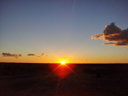 Sunset, Innamincka Regional Reserve, SA