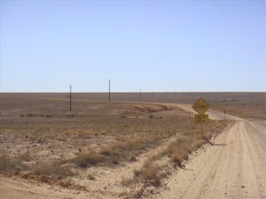 Heading to QLD border from Innamincka, SA
