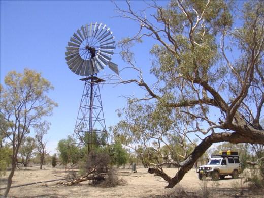 Windmill, Innamincka Regional Reserve, SA