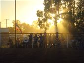 The last rays of sunlight of 2014, rodeo @ Tibooburra, NSW: by thomasz, Views[33]