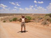 This temperature is insane!, Strzelecki Desert, SA: by thomasz, Views[57]