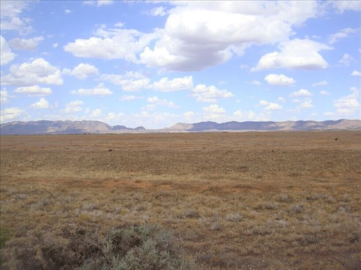 Western side of the Heysen Range, SA