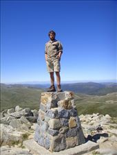 Standing on the roof of Australia, Mt. Kosciuszko (2228m), Kosciuszko NP, NSW: by thomasz, Views[53]