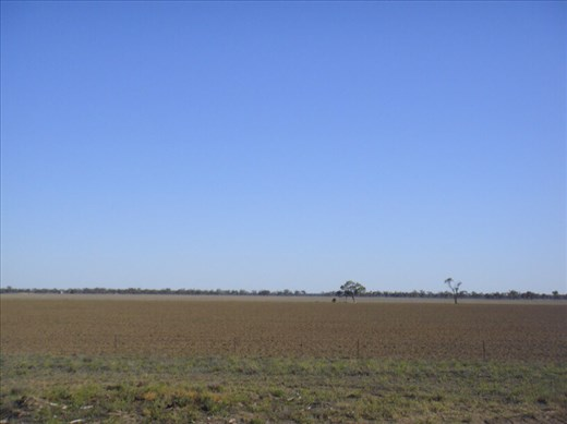 There's always some kind of a drought going on in Walgett, NSW.