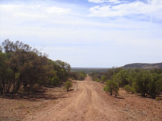 Road to Mount Oxley, Bourke, NSW.
