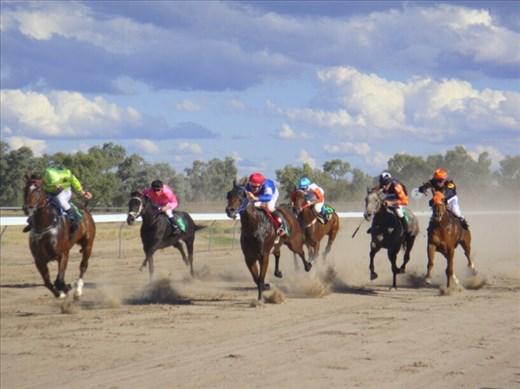 Jockeys, Bourke, NSW.