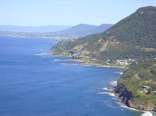 Sea Cliff Bridge, Coalcliff-Clifton, NSW.