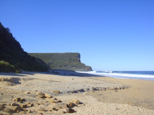 North end of Garie beach, Royal NP, NSW.