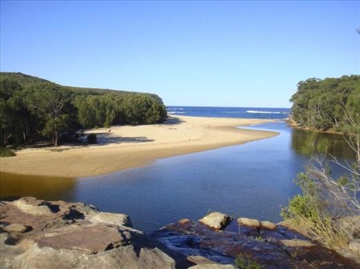 Wattamolla beach, Royal NP, NSW.