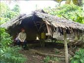 Daniel in the family's bush house, Caroline Bay, Malekula.: by thomasz, Views[165]