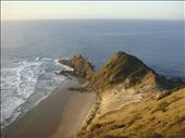 East from Cape Reinga, Te Paki Reserve, Northland.: by thomasz, Views[58]