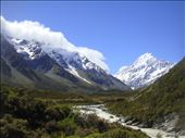 Mt Cook, NZ's highest at 3724m: by thomasz, Views[8]