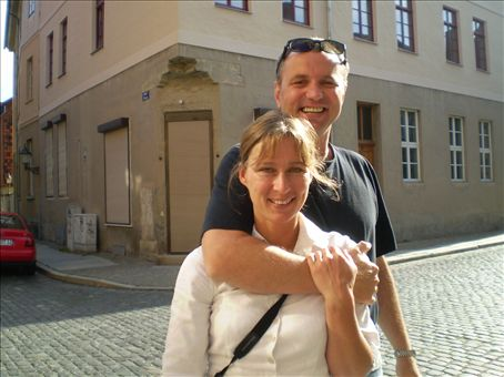 Dagmar and Patrick, parents of Constanzia, Charlotta and Friederika, and also our beautiful neighbours.