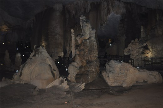 Inside the Thien Duong Cave, Vietnam