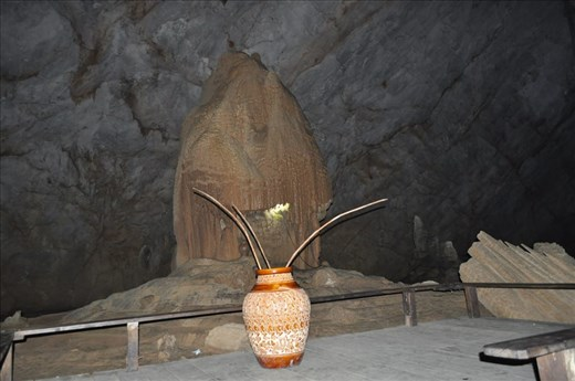 Inside the Thien Duong Cave, Vietnam