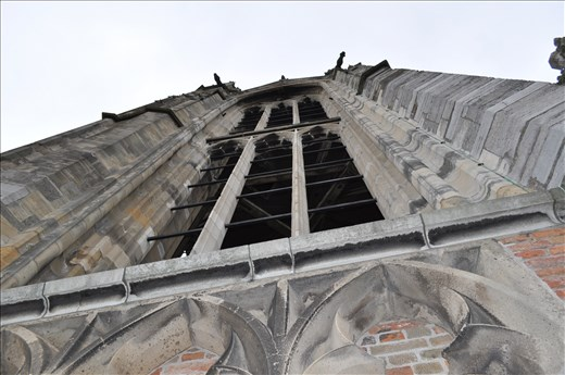 Conquering the highest church steeple Netherlands