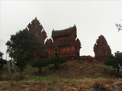 Mysterious tower Poklongarai