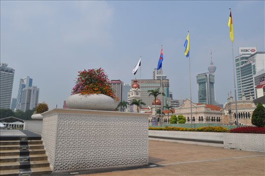 Merdeka Independence Square in Malaysia