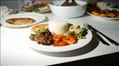 Beef Rendang served with with Telur Balado (spicy eggs), and a selection of light salads and rice.  : by tianamorgan, Views[420]