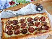 Slow Roasted Tomato & Quark Tart 1: by tiffinbitesized, Views[164]