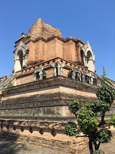 Wat Chedi Luang. Chiang Mai, Thailand.
