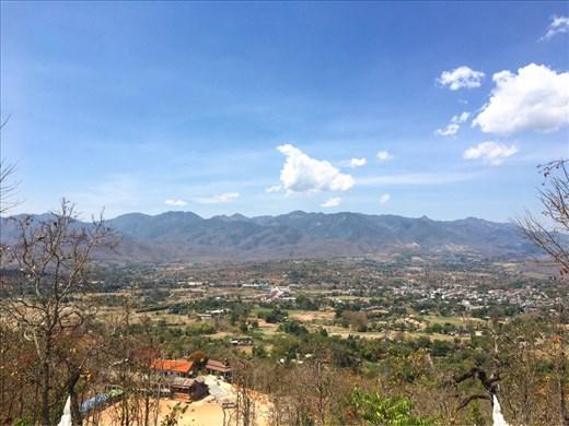 What a view. Pai, Thailand.