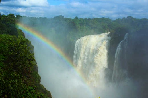 Vic Falls from Zimbabwe