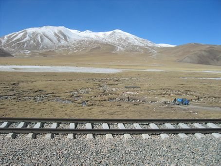 The Tibetan Plateau.