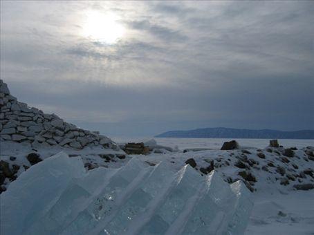 Lake Baikal, Listvyanka.