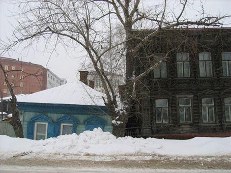 Siberian house, Tomsk.