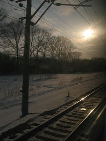 Trans-Siberian Railway.
