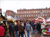 Over 100 Christmas stalls in Place Capitol, Toulouse.: by tingays-in-europe, Views[142]