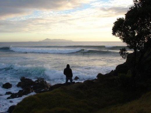 Dawny at Te Arai Beach - my fav East Coast beach