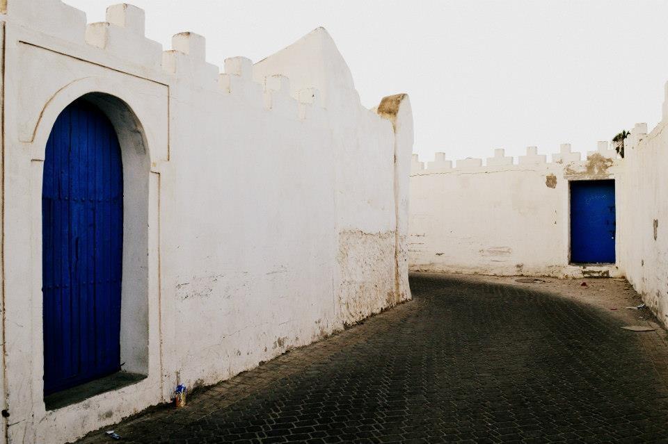 Gir-Lmdayn, the road to the old medina in Tiznit