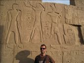 Some hieroglyphics at Karnak Temple. Amazing to think these were created 4000 years ago.: by tk-tempany, Views[810]