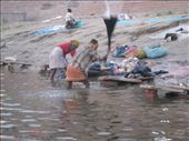 The Ganges is a gently flowing brown soup of human remains, faeces, urine, 