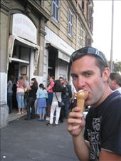 Enjoying the best Gelati shop in Rome (This was our 5th visit).: by tk-tempany, Views[408]