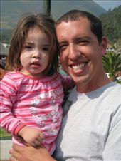 Kathryn's cousin Raul Jnr with his daughter Amelia.: by tk-tempany, Views[237]