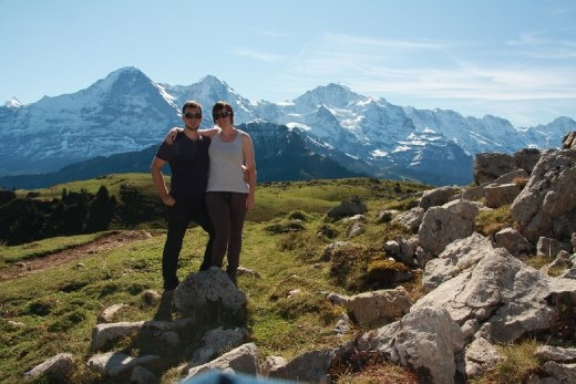 Us at Schynige Platte