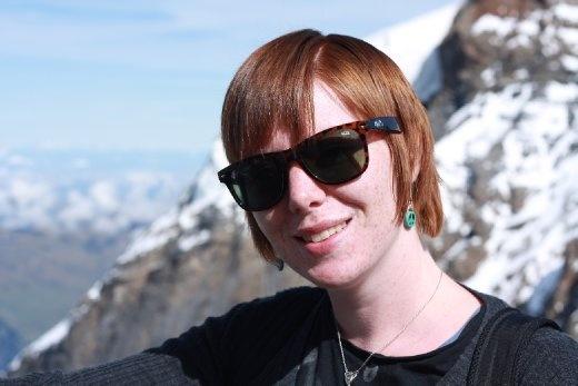 Ingrid at Jungfrau