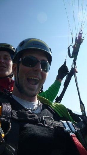 Tegan Paragliding