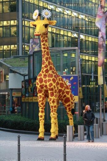 random Lego Giraffe