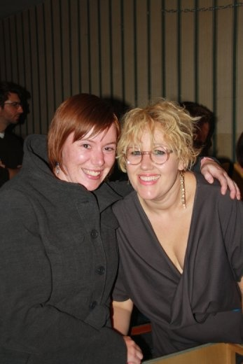 Ingrid with Kellie Sutherland from Architecture in Helsinki